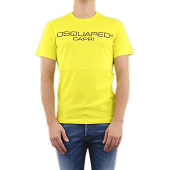 Dsquared2 Cool Fit كابري الأصفر S74gd0643s22844174 الأعلى