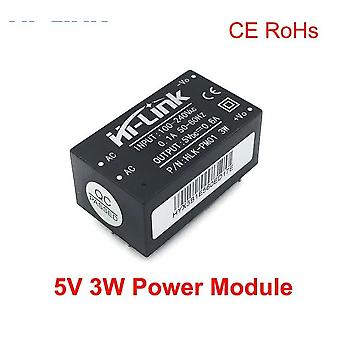 Ac To Dc 5v 3w Step Down Mini  Intelligent Household Power Supply Module,