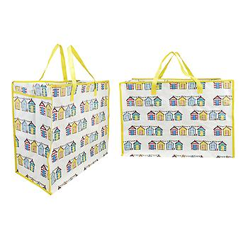 Kandy Toys Shopping Bag Beach Hut Print TY1408
