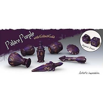 Polyhero Rogue Dice Set - Palace Purple