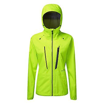 Ronhill Infinity Fortify Womens Fully Waterproof Running Jacket Fluo Yellow