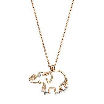 Elefant Diamant halskæde-overraskelse