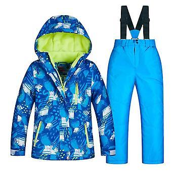 Hiihtopuku/lumilautailu Vaatteet, Takit ja Housut -lämmin