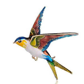 Animal Bird Flying Swallow Broche-pinnen