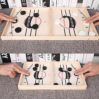 Table Hockey Paced Sling Puck Board Games