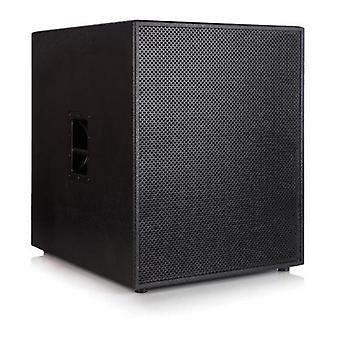 """Delta 18"""" active powered subwoofer 1000w rms 2000w program power 18mm birch plywood"""