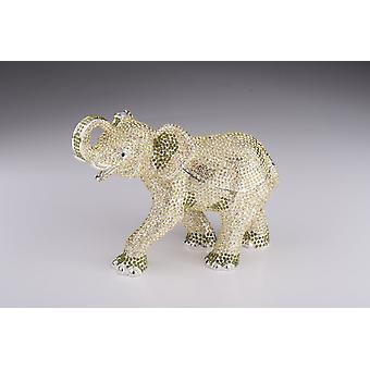 Éléphant argenté