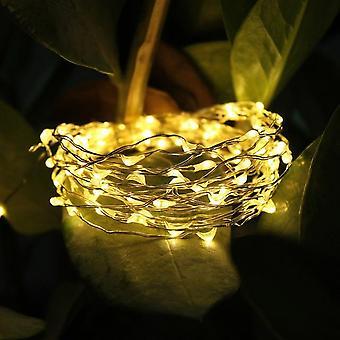 屋外の庭の中庭の芝生のための防水太陽導かれた弦のライト