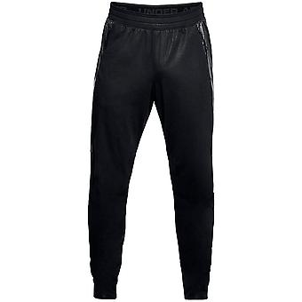 Under Armour Mens Swacket Track Pants Black Joggers 1306457 001
