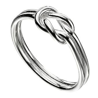 Elemente Silber 925 Sterling Silber Knoten Ring
