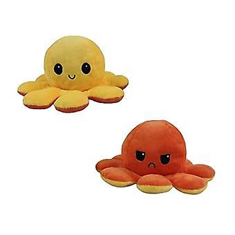 Omkeerbare Flip Octopus Pluche Gevuld Speelgoed