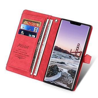 """Monipaikkainen Folio-nahkakotelo Apple iPhone 11 6.1 """"- Punainen"""