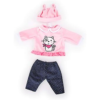 Bayer Design 84686AA Clothing for 15 to 18 inch Dolls, Trousers, top and Cap, Set