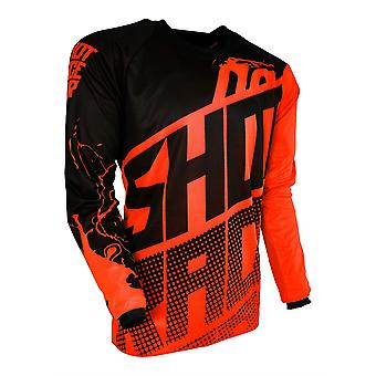 Shot Contact Venom Orange Adults MX Jersey
