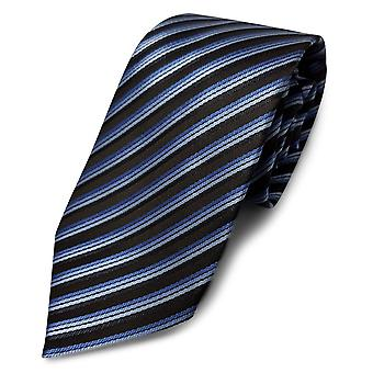 Carabou Diagonal Navy Multi Stripe Tie