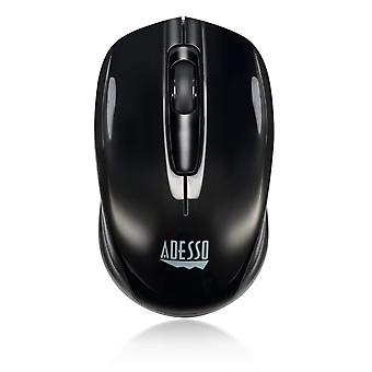 Adesso iMouse S50 - France | Mini Mouse noir | Sans fil | Usb