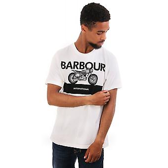 Barbour International Rider Ss Cn T Shirt