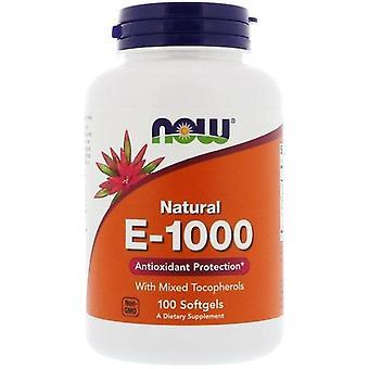 Maintenant Foods, E-1000, 100 Softgels