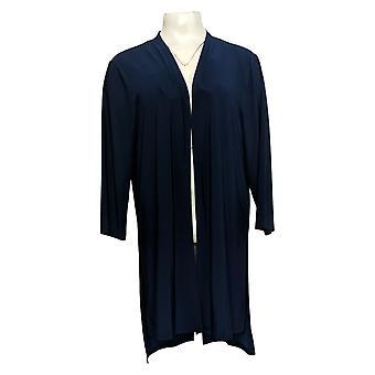 Attitudes par Renee Women's Sweater Wardrobe Warrior Navy Blue A381585