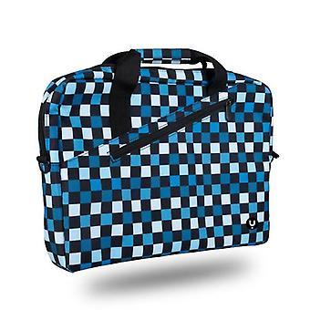 "Laptop Case NGS GINGERCHESS 15,6"" blå tryckt"