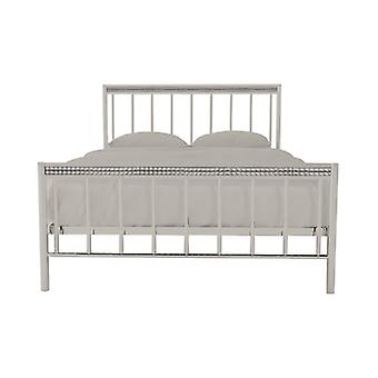 Bella 4.6 Double Bed Silver