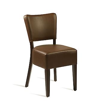 BugeLisside Chair - Wenge - Brown