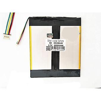 Baterie Zapisovač dobíjecích baterií Tablet Baterie