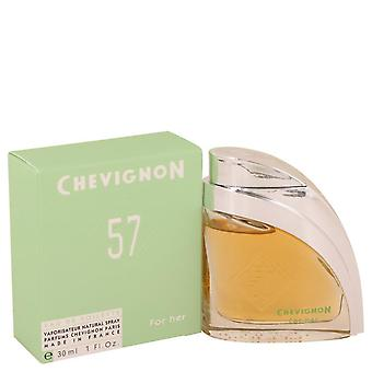Chevignon 57 Eau De Toilette Spray By Jacques Bogart 1 oz Eau De Toilette Spray
