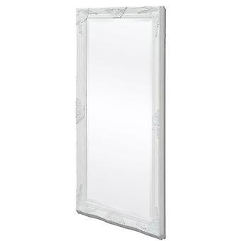 Wandspiegel Barok Stijl 120x60 Cm Wit