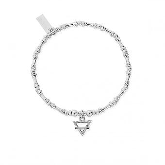 ChloBo Sterling Silver Noodle Bead Earth Bracelet SBNB3104