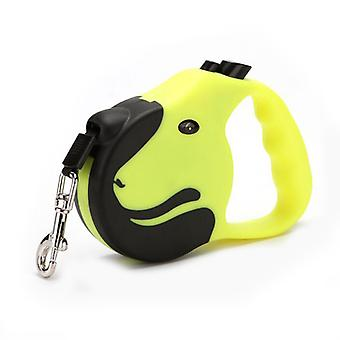 360° Tangle-free, Heavy Duty Retractable Dog Leash With Anti-slip Handle One-handed Brake, Pause, Lock Tangle-free Retractable Dog Leash Dispenser 3/