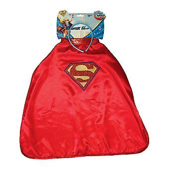 Cape et Serre-tête Supergirl Super Hero Girls enfant