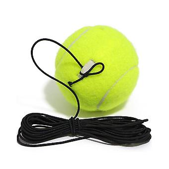 Professional Tennis Training Ball With 4m Elastic Rope Rebound Practice Ball