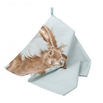 Wrendale Designs Hare Tea Towel