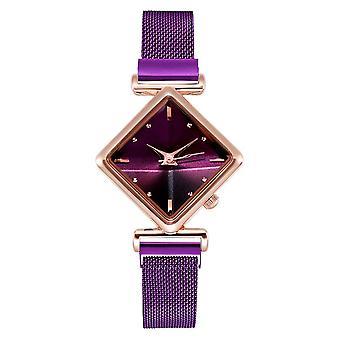 Women Magnetic Bracelet Watches Set, Female Square Bracelet, Quartz