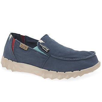 Hey Dude Farty Washed Mens Canvas Shoes