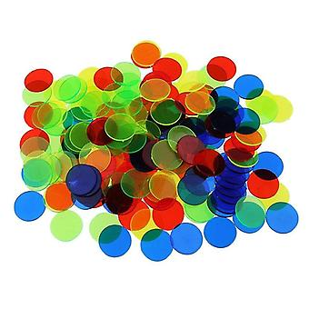 Montessori Learning Education Math Learning Resources Color Plastic Coin Bingo