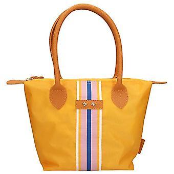 Depesche 10327 - Striped handbag, Trend Love, ca. 21 x 31 x 13 cm, multicolored