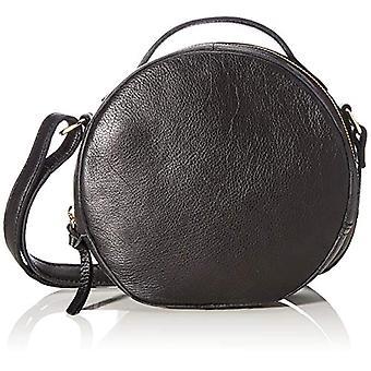 PIECES Pcnickie Leather Cross Body Fc - Women's Crossbody Bags, Black, 6x19x20 cm (B x H T)(2)