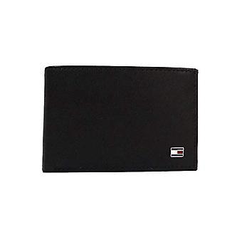 Tommy Hilfiger Eton Mini CC Flap & Coin Pocket, Men's Wallet, Black (Schwarz (Black 002), 11x7x2 cm (B x H x T)
