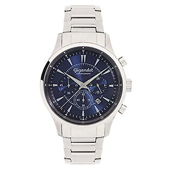 Gigandet Brilliance Men's Watch Analog Chronograph Quartz Blue Silver G48-004