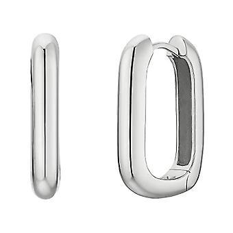 NOELANI Silver Hoop Earrings 925(5)