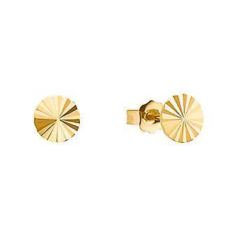 s.Oliver, naisten korvakorut, hopea 925 kullattu Sunrays(2)