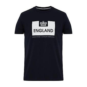 Weekend Offender Euro Series England T-Shirt - Navy