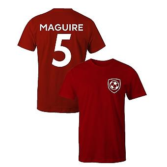 Harry maguire 5 club stijl speler voetbal t-shirt