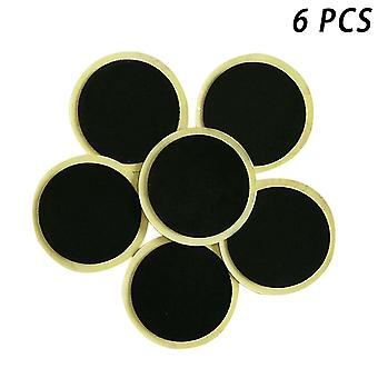 6pcs/10pcs Bike Tire Patches Fast Repair Tools Without Glue Mountain/road Bike Tyre Inner Tube