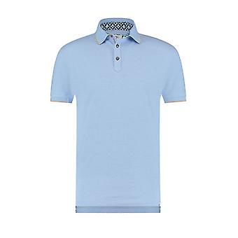 R2 Polo Shirt Light Blue