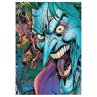 DC Comics - Joker Crazy Eyes - 1000 piece puzzle