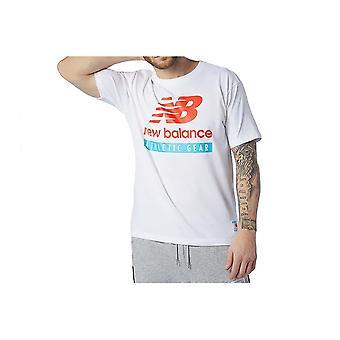 New Balance MT11517WT camiseta universal todo el año para hombres