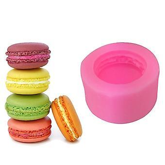 3d Stereo Macaron Style Silicone Fondant Cake Mold